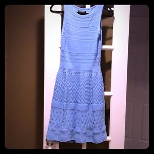 Ralph Lauren baby blue knit dress